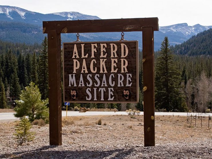 alfred alferd packer cannibal colorado