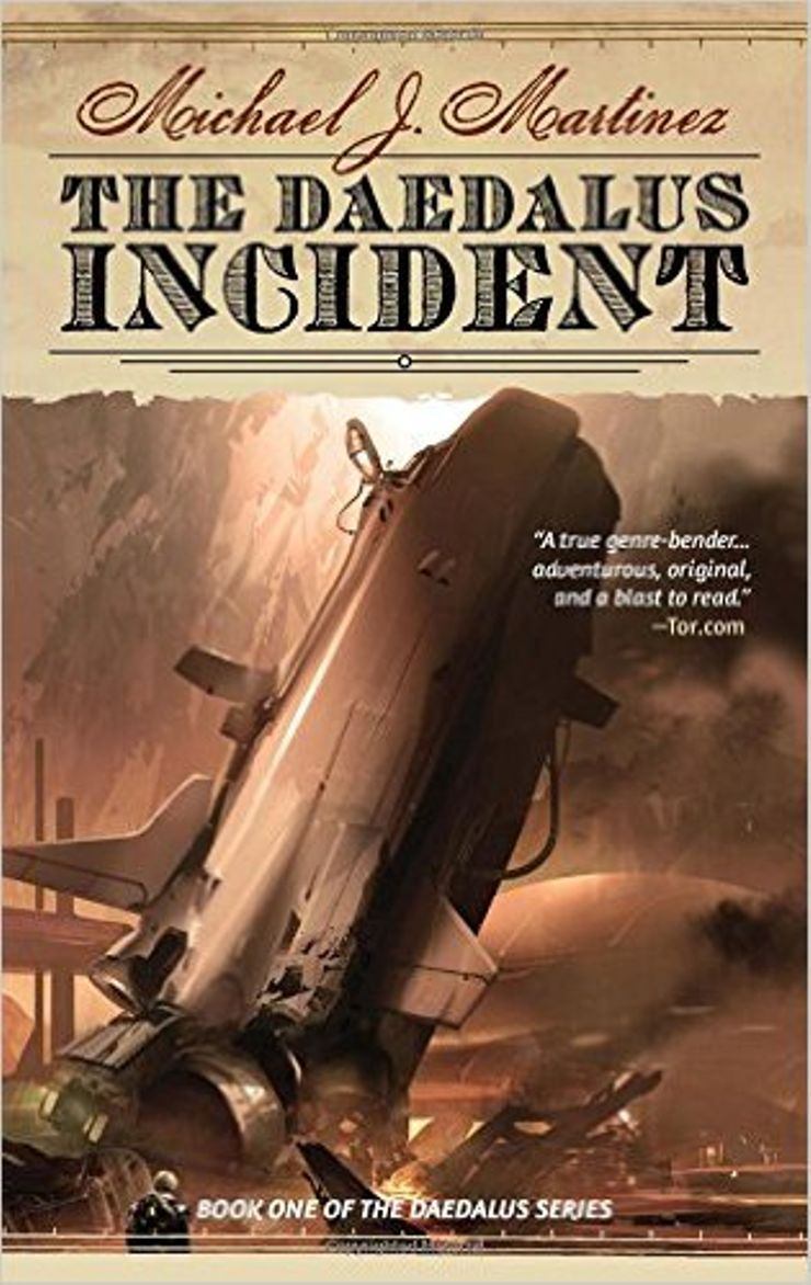 Buy The Daedalus Incident at Amazon