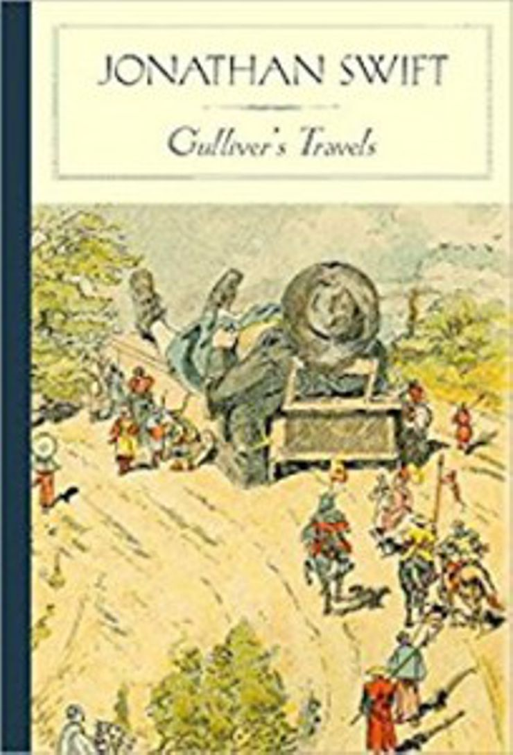 classic english literature, gulliver's travels