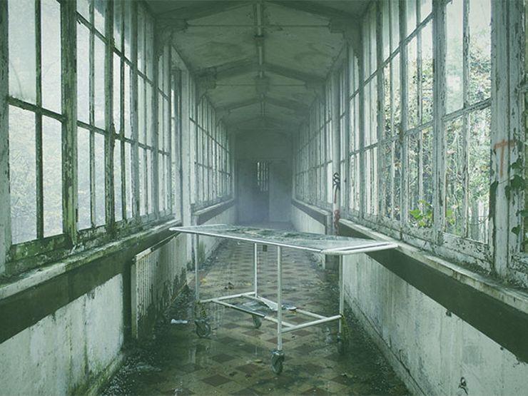 scary paranormal encounters morgue