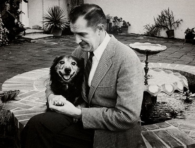 Meet Vincent Price's Best Friend: Joe the Dog