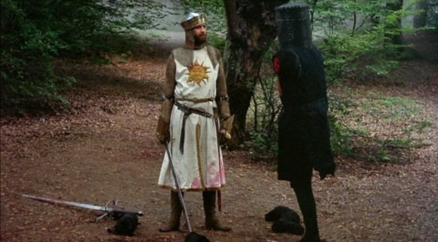 Arthurian legend movies Monty Python and the Holy Grail