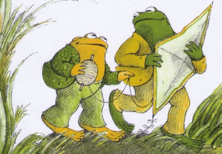 best fantasy characters ever Frog and Toad