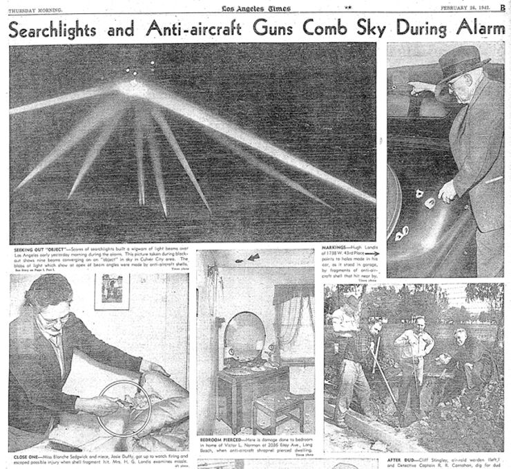 alien encounters before roswell Battle of Los Angeles