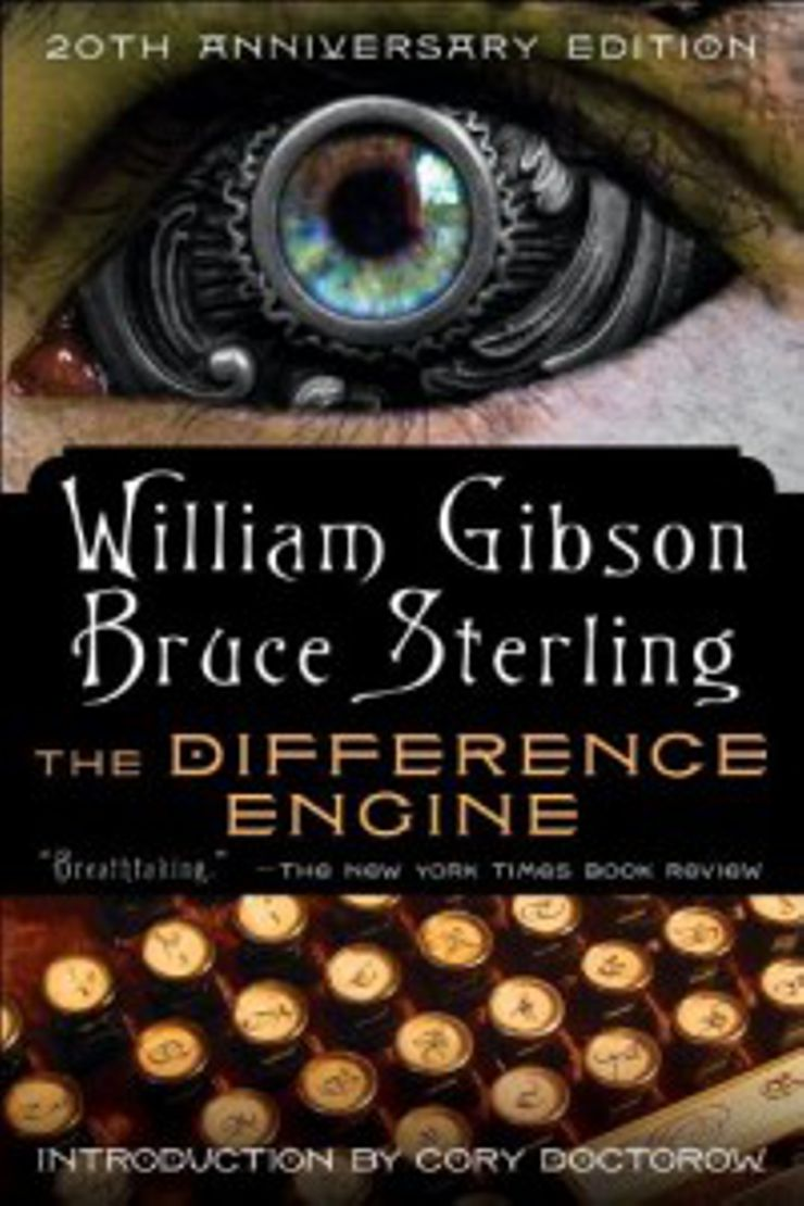 steampunk books Difference Engine
