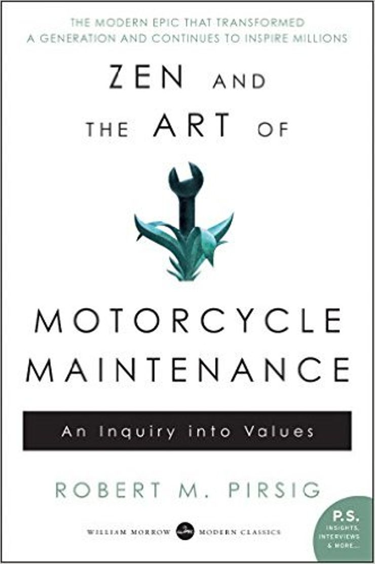 Buy Zen and the Art of Motorcycle Maintenance at Amazon