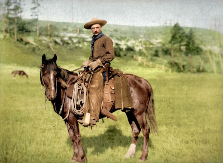 cowboy colorized