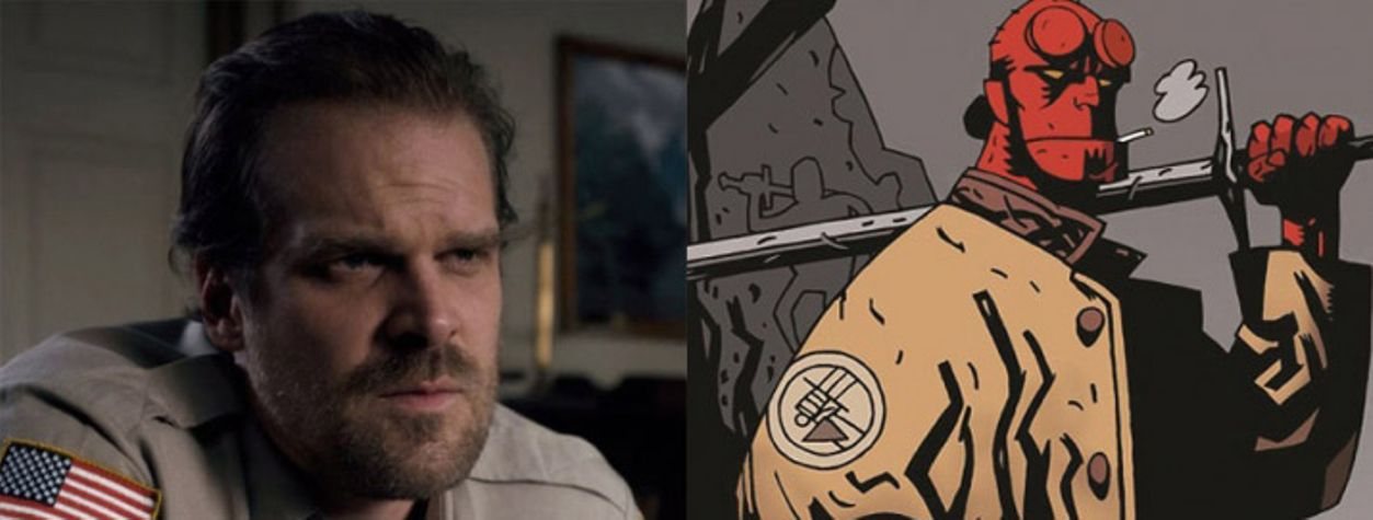 R-Rated <em>Hellboy</em> Reboot Will Star David Harbour of <em>Stranger Things</em>