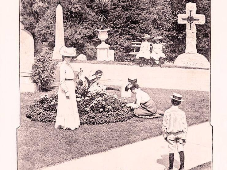 Arlington Cemetery. Illustration: The Library of Congress / Flickr (CC)