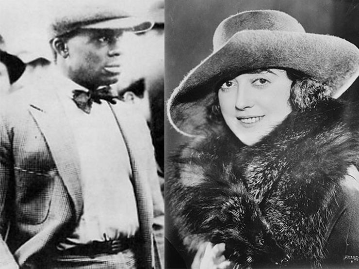 Murder suspects Henry Peavy and Mabel Normand.