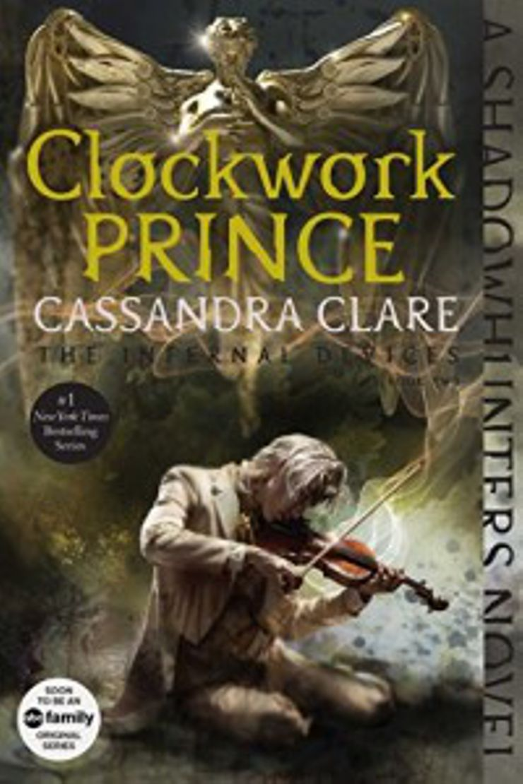 steampunk books Clockwork Prince