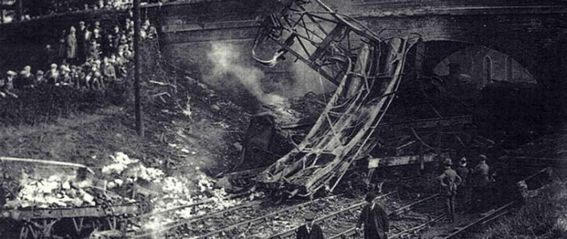 The Woman in Black and the Eerie Mystery of the Charfield Railway Disaster