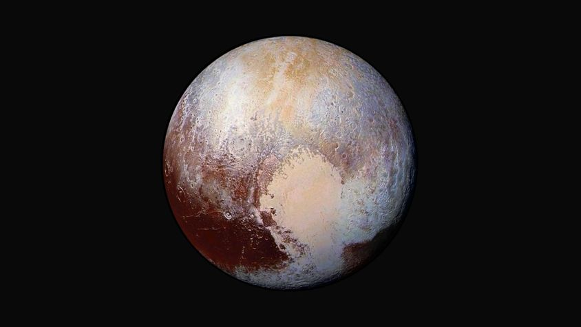 NASA search engine photos Pluto