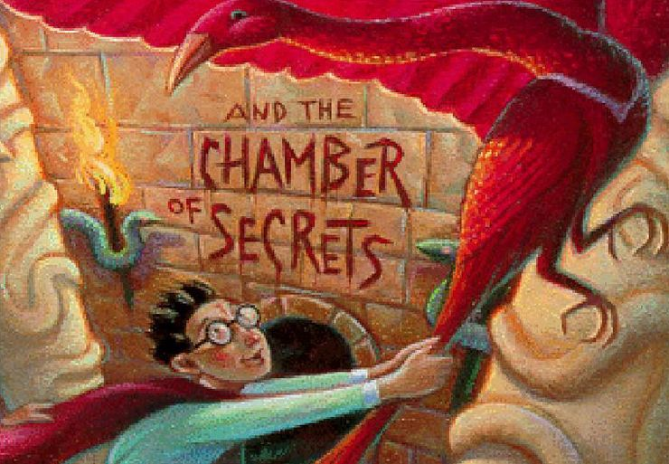 harry potter quotes chamber of secrets book cover