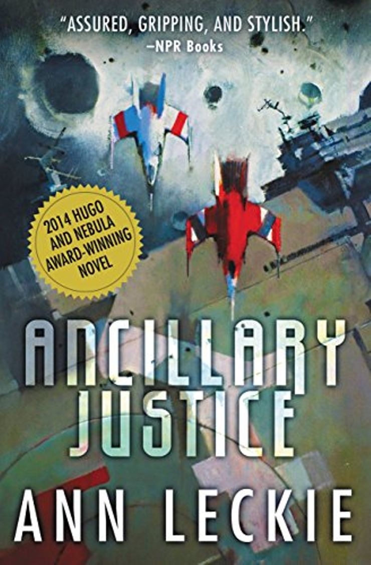 Buy Ancillary Justice at Amazon