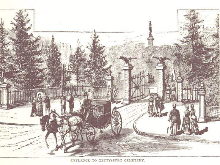 history of cemeteries gettysberg cemetery