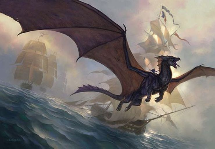 best fantasy characters Temeraire