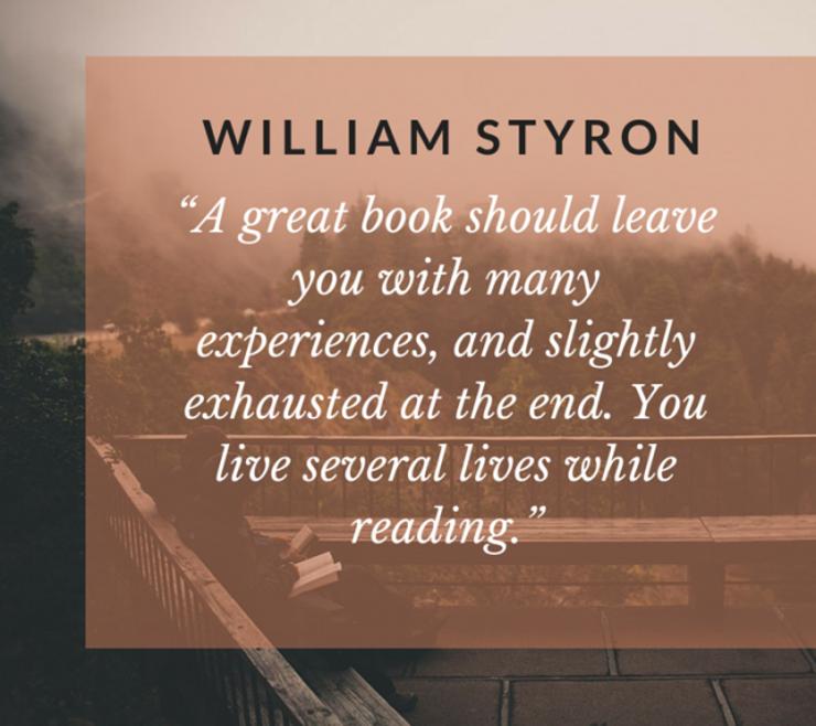 William Styron Quote