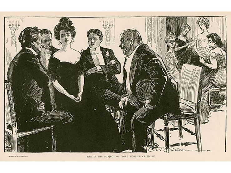 death becomes her - charles dana gibson