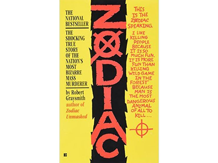 serial killer books zodiac
