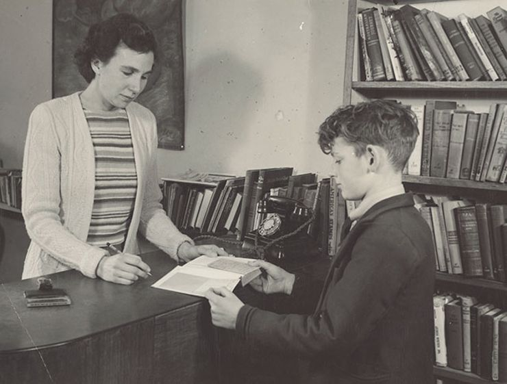 Library Borrower Returns Books More Than 50 Years Late