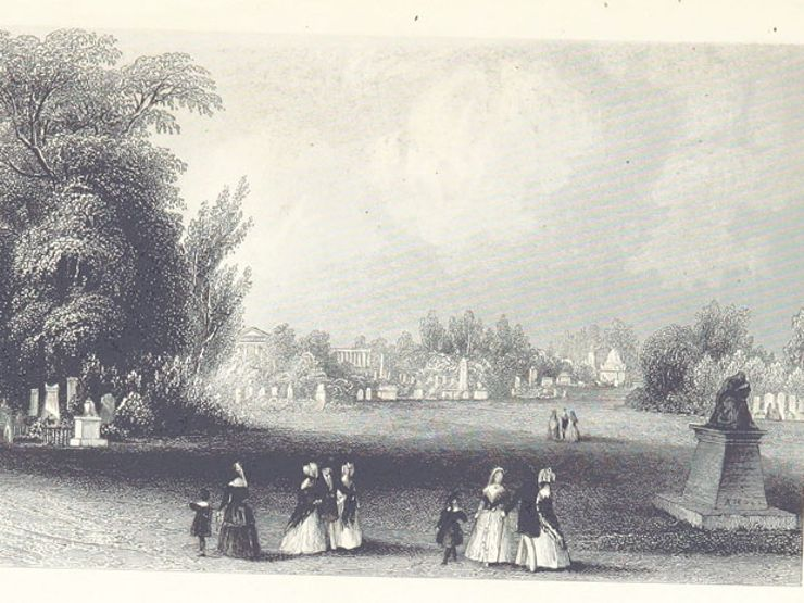 the history of cemeteries kensall green