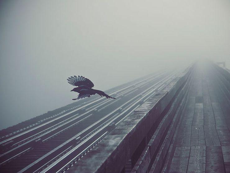 phantom phone calls train tracks