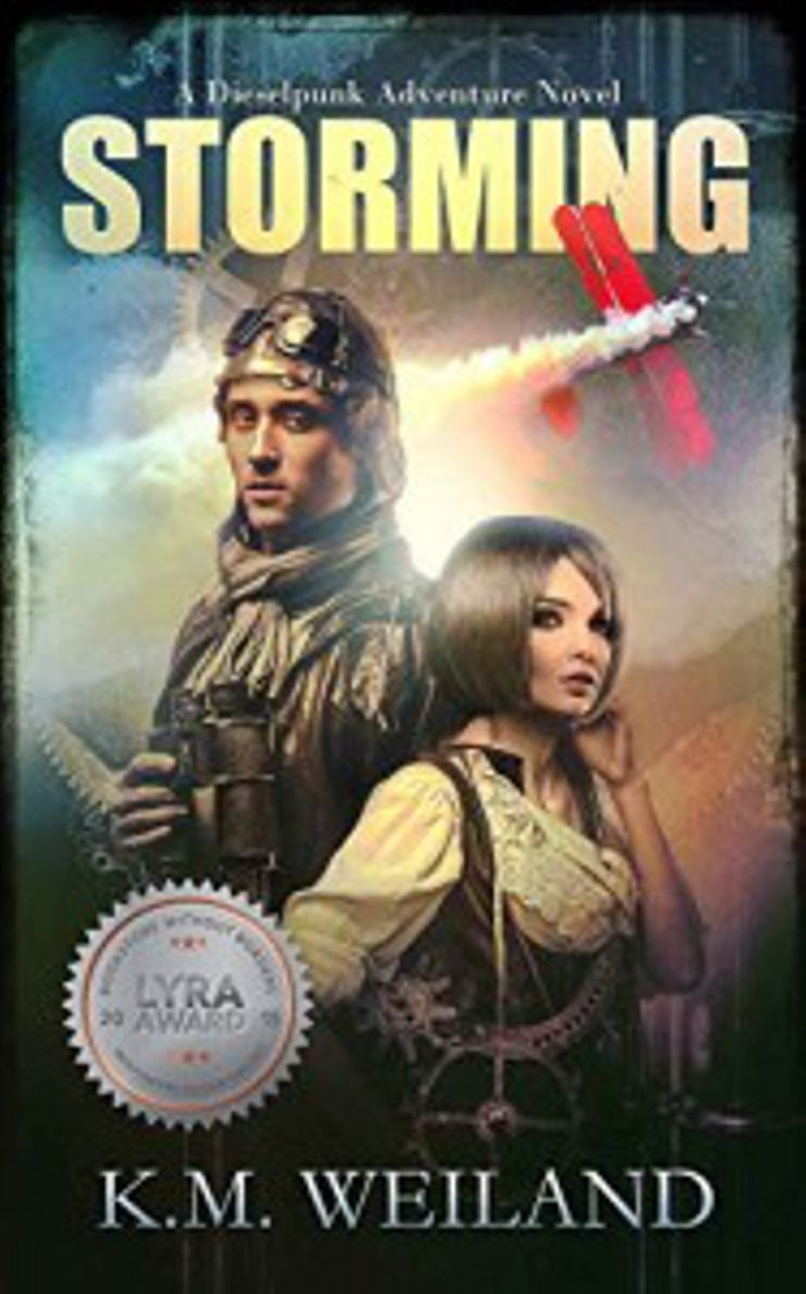 steampunk books Storming