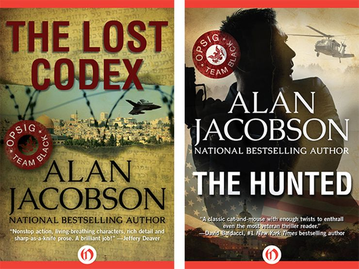 Alan Jacobson - The Lost Codex