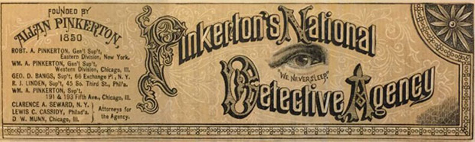 pinkerton's national detective agency logo
