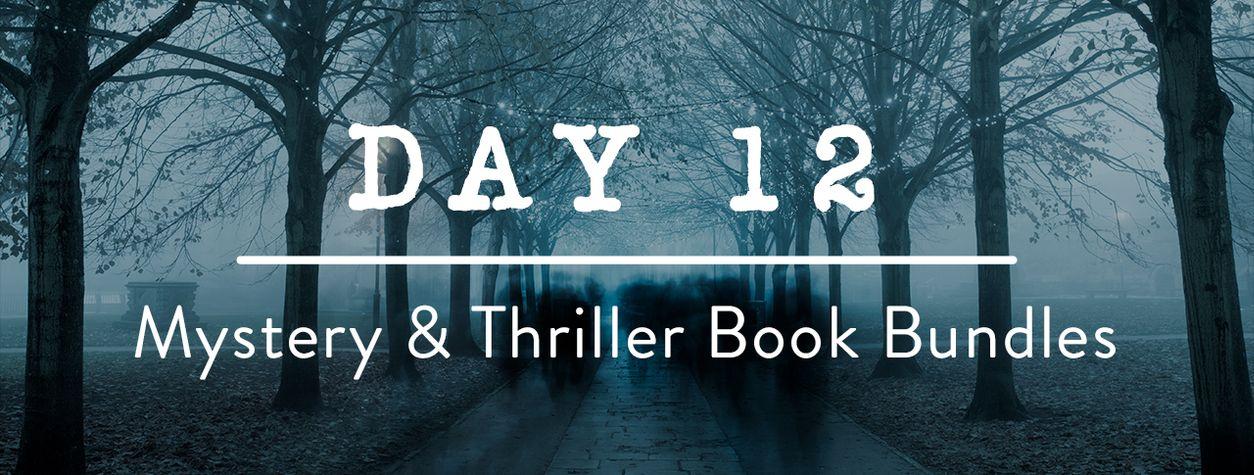 Day 12: Mystery & Thriller Book Bundles