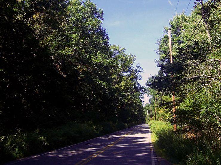 haunted roads clinton road