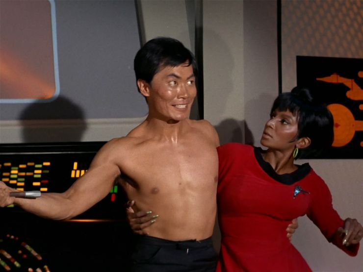 hazards in star trek universe alien illnesses the naked time sulu george takei