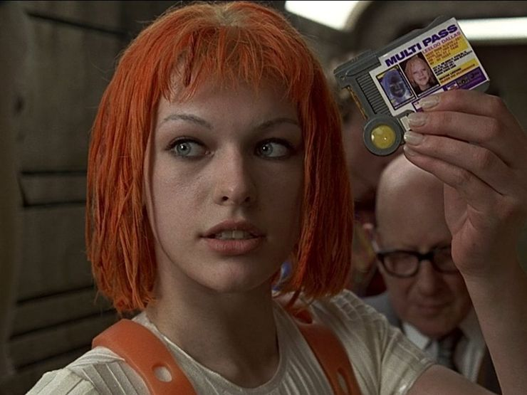 badass female characters Leeloo The Fifth Element