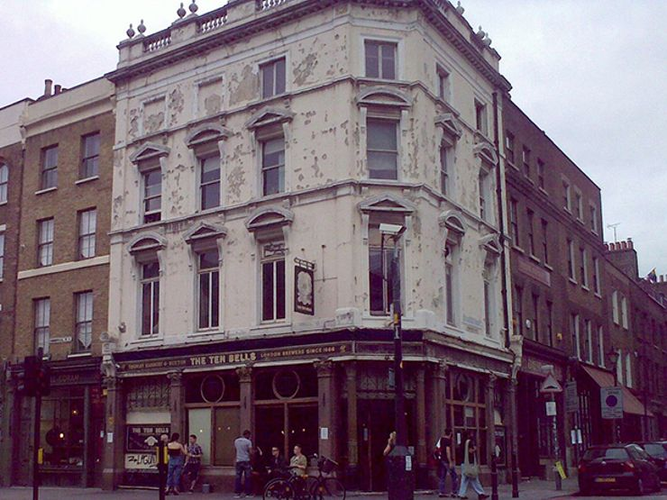 haunted london ten bells pub