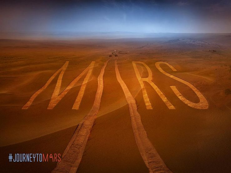 NASA Mars mission Journey to Mars
