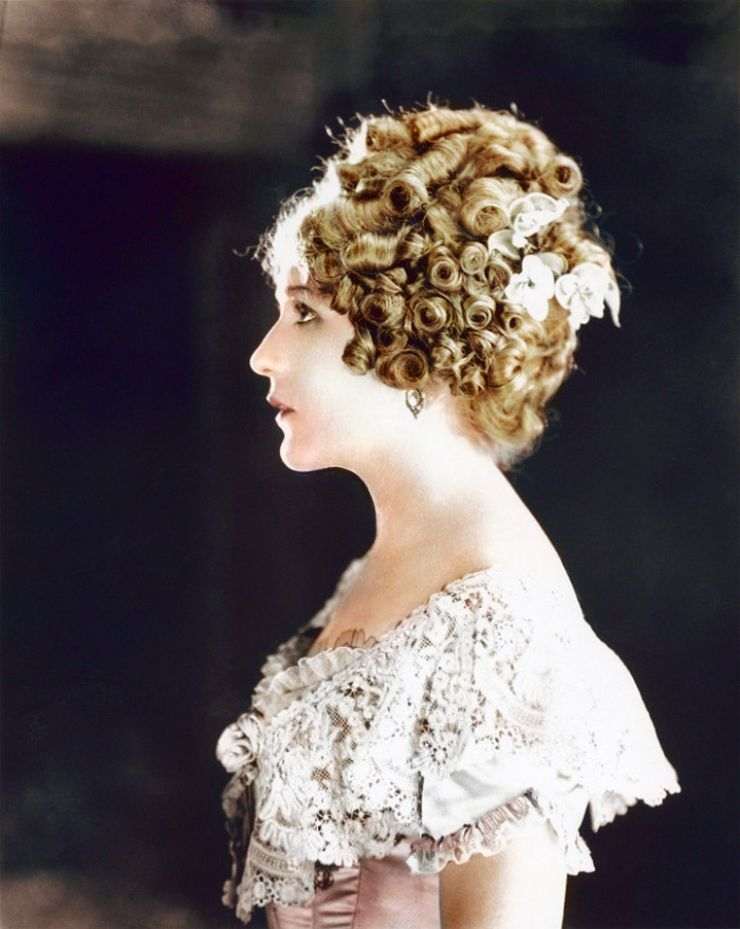 mary pickford colorized
