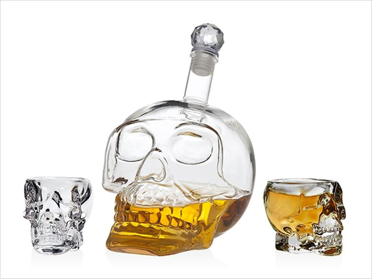 skull set shot glasses set