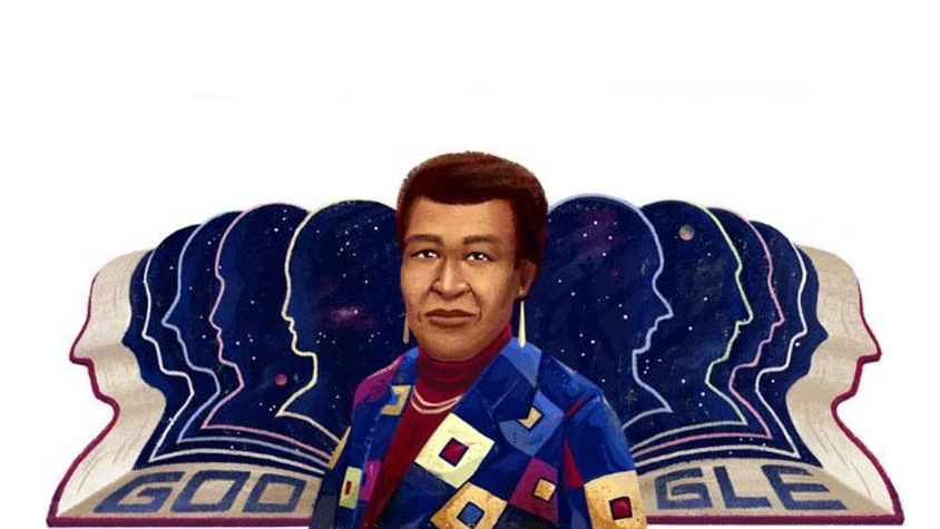 Google Honors Octavia Butler's 71st Birthday with a Doodle