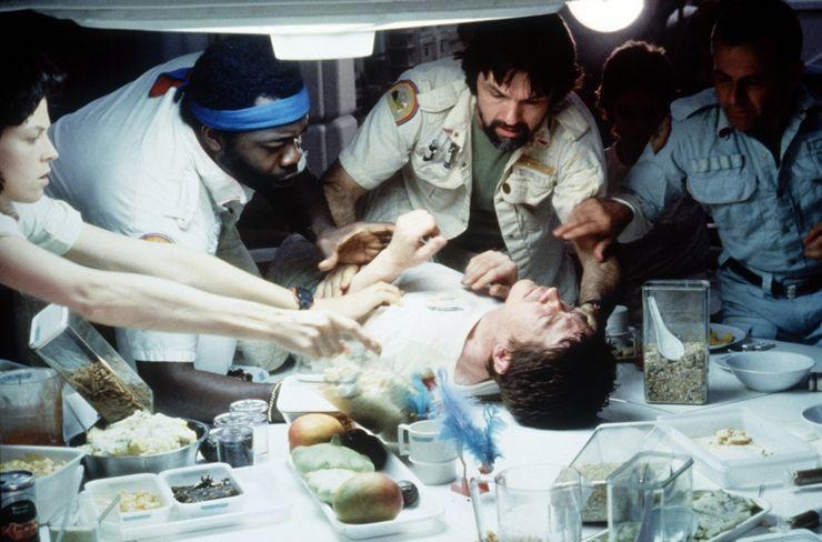 Alien franchise movies ranked Alien chestburster