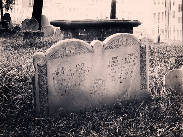 Buried History: Haunting Photos of Boston's Historic Cemeteries