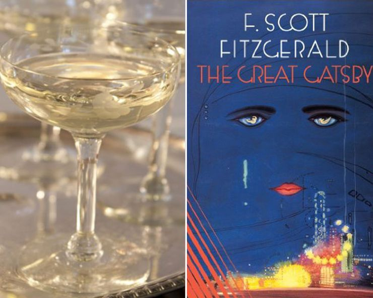 Literary Inspired Cocktails Great Gatsby