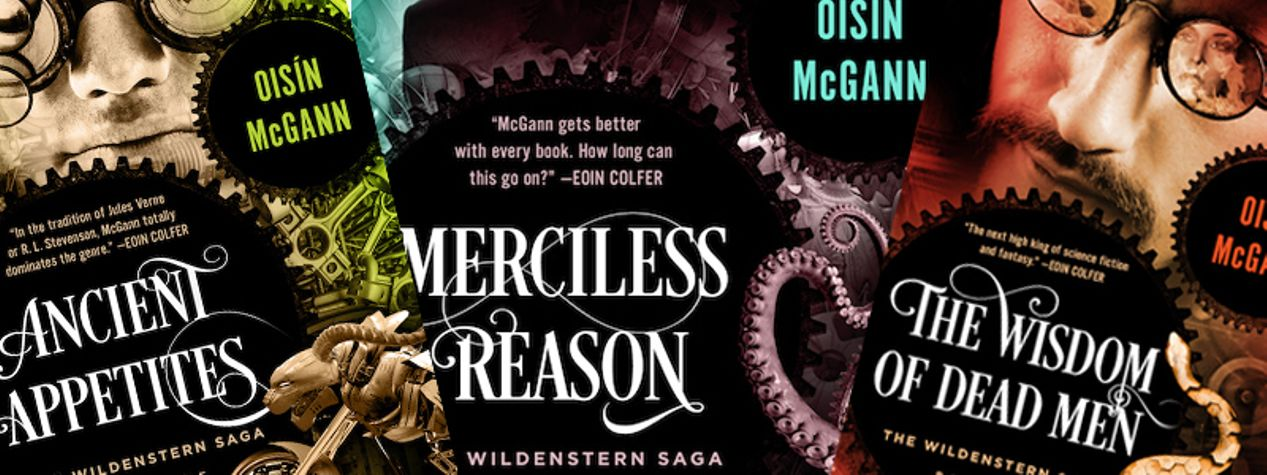 Oisín McGann Shares His Approach to 'Writing What You Know'