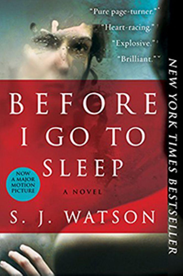 books like girl on the train Before I Go to Sleep