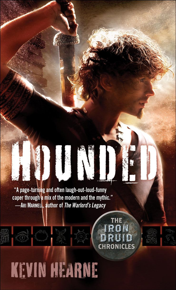Buy Hounded at Amazon