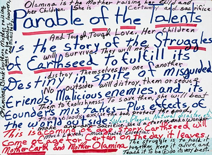 octavia butler facts parable of the talents