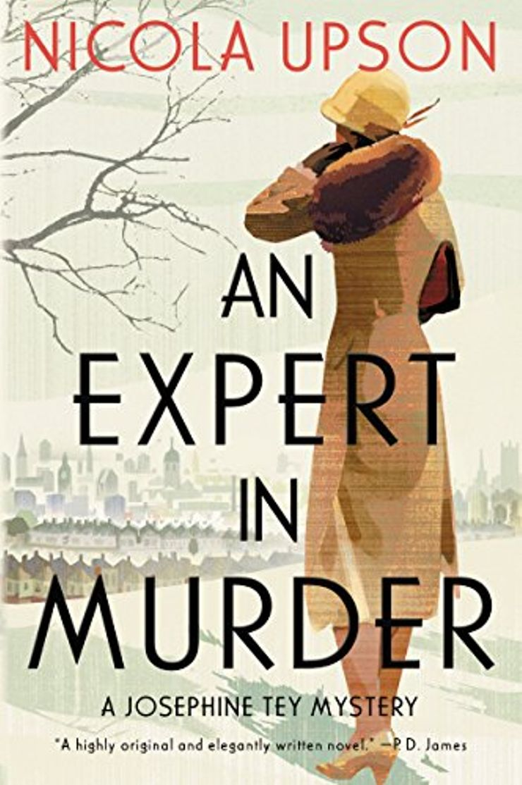 Buy An Expert in Murder at Amazon
