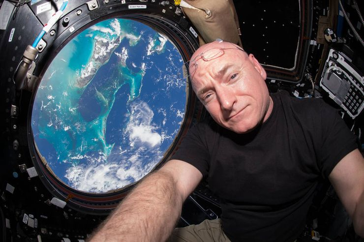 NASA twins study Scott Kelly Year In Space ISS.