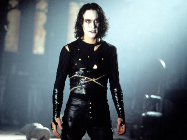 cursed movie sets the crow