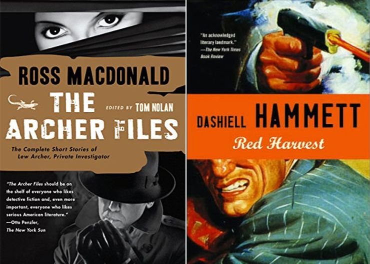 hard-boiled crime fiction
